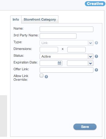 How to enable Deep Linking on a creative