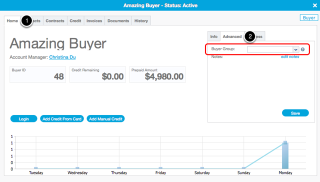 Add Buyer to Buyer Group
