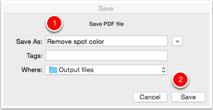 Save the PDF file
