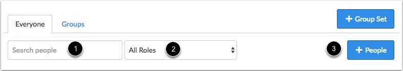 搜查和过滤用户
