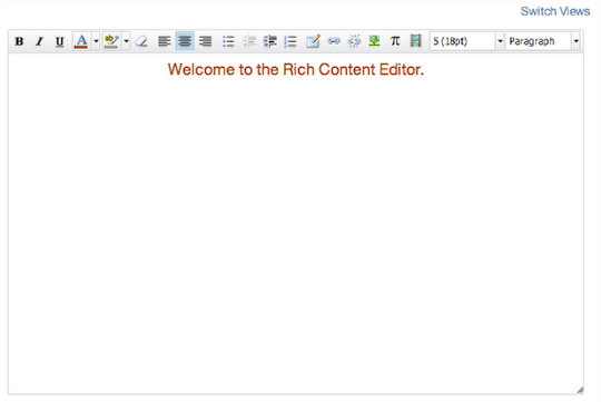 打开富内容编辑器