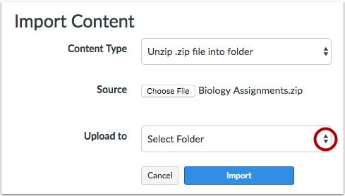 选择文件夹