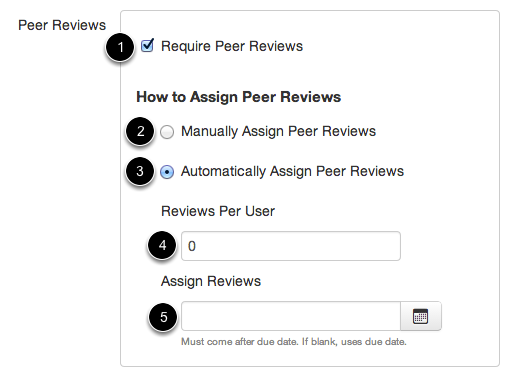 Require Peer Reviews