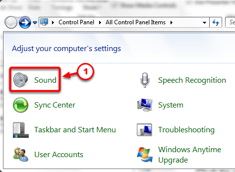 (Optional) Setting-up your microphone - Step #1