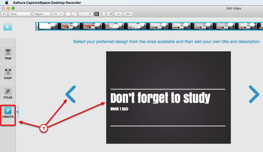 Editing your presentation (optional) - Step #13