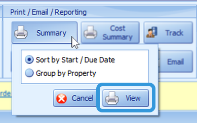 Summary Report: Set Up