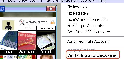 Data Integrity Checks