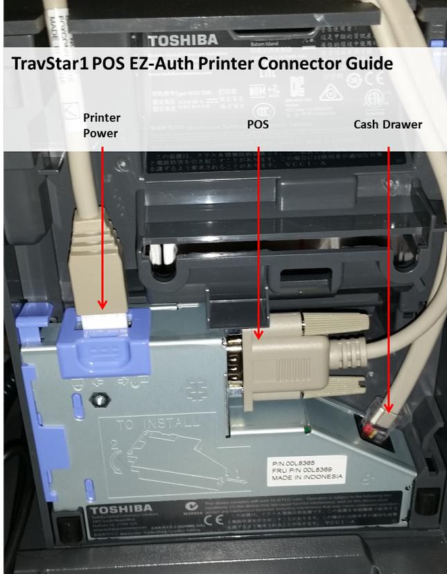 Thermal Printer Cables