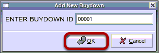 Add New Buydown