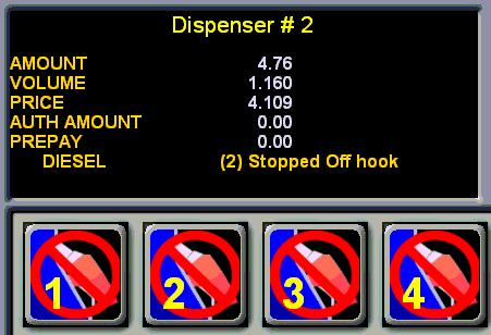 Dispenser Status