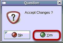 Accept Changes