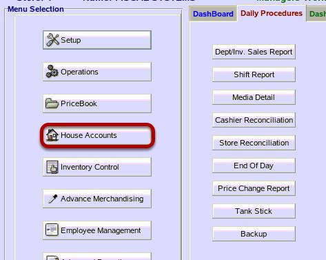 House Accounts