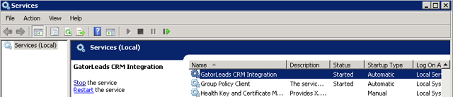 GatorLeads Integration Service
