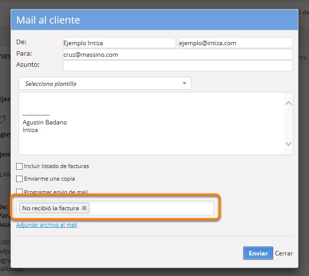 Etiquetar emails