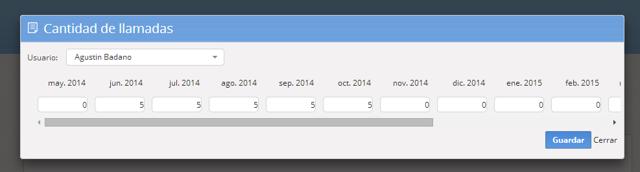 """Si el objetivo es del tipo """"Cantidad de gestiones con etiqueta"""" verás una pantalla como esta."""