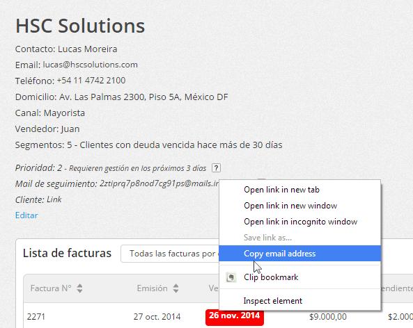 """Haz clic con el botón derecho del mouse y selecciona la opción """"Copiar""""."""