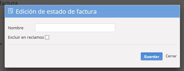 """Se abrirá la pantalla para que agregues el estado. Al finalizar haz clic en """"Guardar""""."""