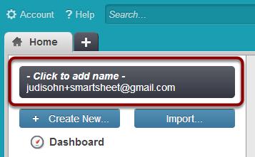 Personalize Smartsheet