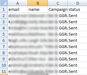 Prepare a file to upload campaign member data