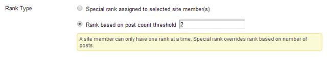 Select Rank Type.