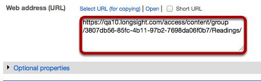 Copy the URL.