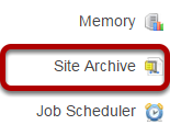 To access this tool, select Job Scheduler from the Tool Menu in the Administration Workspace.
