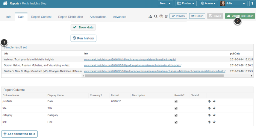 Plugin command will be validated and Data Collected