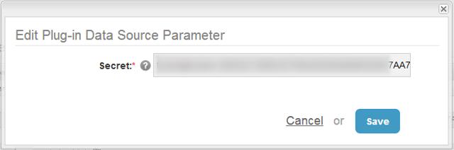 7. Add Secret parameter to profile