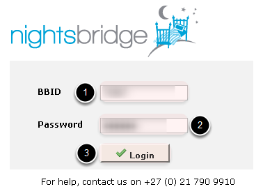 Login with BBID & Password