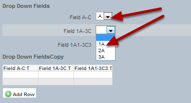 You can now have the options from a prior field limiting the options that appear in another field.