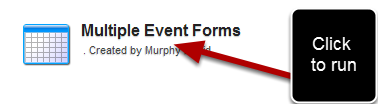 You can now add in Event Field filters when you run an existing Excel Report.