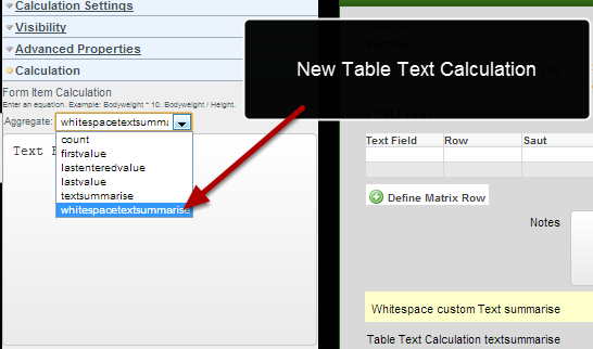 There is a new whitespace field that concatenates all fields in a table column without having a space or comma between them.