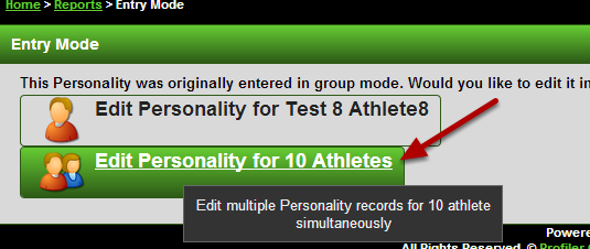 IMPORTANT: when you save and close the form and open the results in group entry mode, ONLY the Group Section Selected will appear