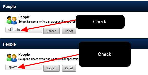BEFORE you create a new user, make sure that this user is NOT already on the site. You do NOT want to create a duplicate!