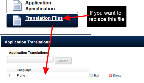 If you have an Existing Translation File Uploaded into the Translation File Module and it needs to be updated follow the steps here to update it