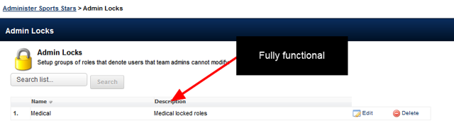 The Admin Locks module is available for use by Site Administrators