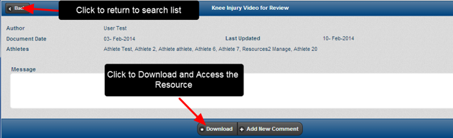 "Once you Open the Resource, click ""Download"" to download it."