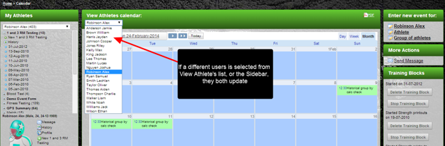 These enhancements also occur now when viewing data on the Calendar Page