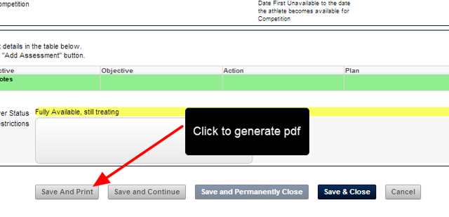 """However, some Event Forms set to """"Save and Print"""" are set to print specifically in a Portrait View"""