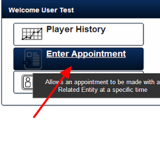 All Appointments Forms appear in the Enter Appointment Module.