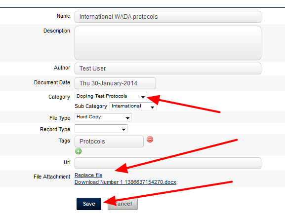 As an Administrator, you can automatically add in new Resources into this category on the main site