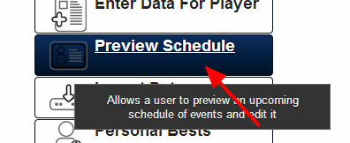The Preview Schedule Module is available on the main application