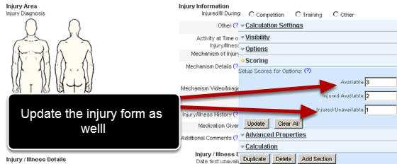 Complex form configurations- Update any other forms that were linked to the Form, field name or option as well, as they will need updating.