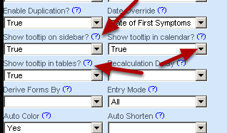 Setting up the event so that is can pop up in a preview form from the sidebar, calendar and in the reports/athlete history tables can be done on the Form's Advanced Properties