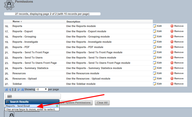 "To Email a report the user will need access to the System Permission called ""Reports - Send Email"""