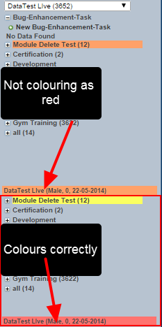 The status ( e.g., ill, available etc.) was not showing correctly on system with two forms setting the status when a user only had access to one form