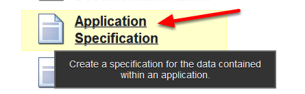 "If you have accidentally set up other fields on your system as status fields and your status is not updating correctly, click on the ""Application Specification"" on the Builder Site"