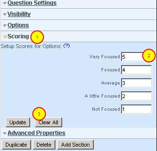 2.4.6 Adding Scores to each Option