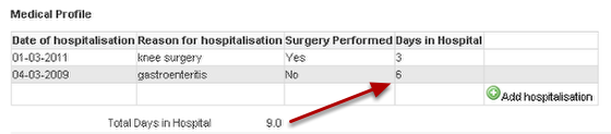 Check the calculation captures the data that you want in the preview page and save any changes.