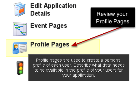 You can link to any data from your Profile Pages.